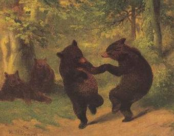 Dancing Bears (Two Bears)