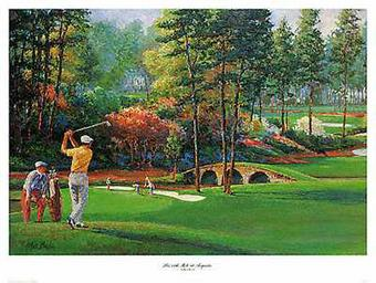 11th Hole At Augusta