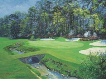 13th at Augusta-Azalea