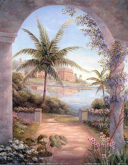 Tropical Terrace I